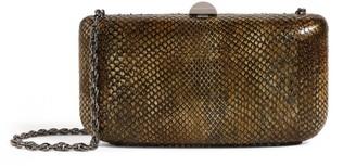 Rodo Python Clutch Bag