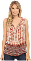 Lucky Brand Tribal Printed Blouse
