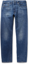 Levi's 1954 501 Slim-Fit Selvedge Denim Jeans