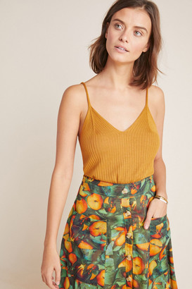 Anthropologie Ribbed Knit Cami