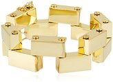 CC Skye Yellow Gold Brick and Mortar Bracelet, 2.25""