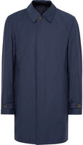 Canali - Slim-fit Reversible Wool And Shell Raincoat