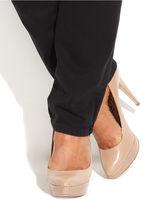 MICHAEL Michael Kors Size Skinny Jeans, Black Wash