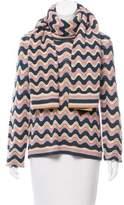 BCBGMAXAZRIA Chevron Crochet Sweater w/ Tags
