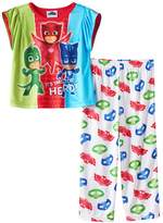 "PJ Masks Little Girls' ""Masked Heroes"" 2-Piece Pajamas"