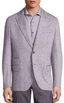 Eleventy Modern-Fit Cotton & Wool Jacket