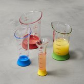 Crate & Barrel OXO ® 4-Piece Mini Measure Beaker Set