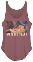 Fifth Sun Women's Tank Tops PAPRIKA - The Little Mermaid Paprika Heather Ariel 'Weekend Plans' Festival Tank - Women & Juniors