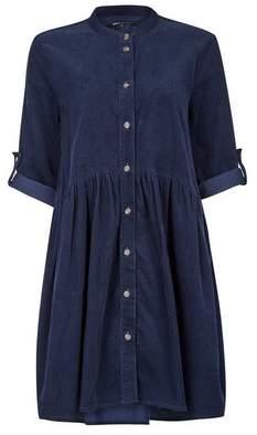 Dorothy Perkins Womens **Only Navy Cord Shirt Dress