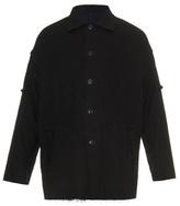 Yohji Yamamoto Reversible Virgin-wool Blend Coat