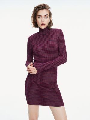 Tommy Hilfiger Fitted Rib-Knit Dress