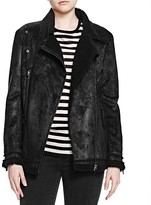 The Kooples Faux Shearling Jacket