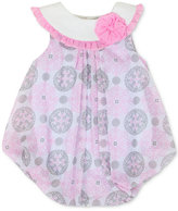 Baby Essentials Printed Bubble Romper, Baby Girls (0-24 months)