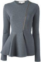 Stella McCartney zipped strong line jacket