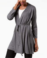 Eileen Fisher Tie-Front Tencel Blend Cardigan