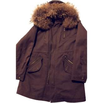 Bel Air Khaki Rabbit Coats