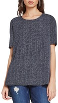 BCBGeneration Printed Tunic Tee
