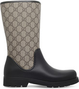 Gucci Rainy GG supreme rain boots
