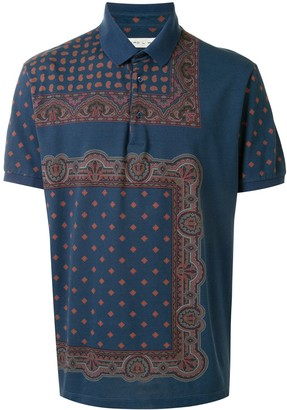 Etro Patterned Polo Shirt