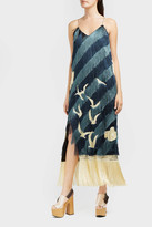 Marco De Vincenzo Fringed Seagull Dress