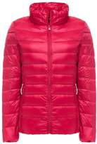 Sawadikaa Women's Ultra Light Packable Stand Collar Winter Pillow Down Jacket