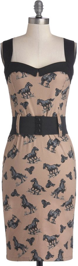 Cool Vibes Dress in Equestrian