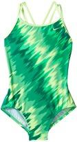 Nike Splash Spiderback One-Piece Swimsuit Girl's Swimsuits One Piece