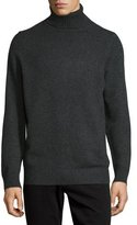 Vince Chunky Wool/Cashmere-Blend Turtleneck Sweater