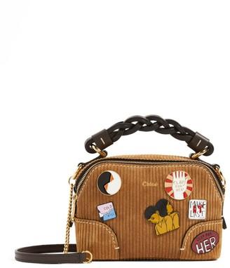 Chloé Mini Graphic Daria Cross-Body Bag