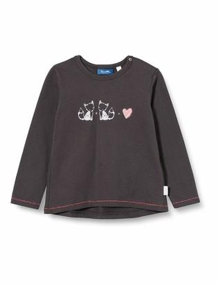 Sanetta Girls Seal Grey Baby and Toddler T-Shirt Set 12-18 Months