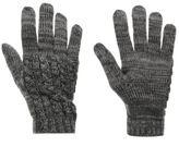 Firetrap Womens Gloves Knitted Snow Winter Warm Accessories