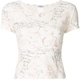 Chanel Pre Owned patterned T-shirt