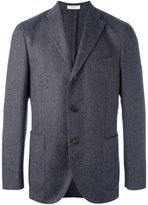 Boglioli three button blazer - men - Cupro/Cashmere/Wool - 52