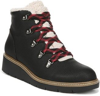Dr. Scholl's Lace-Up Hiker-Inspired Booties - So Cozy