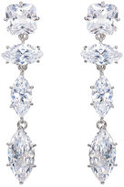 Fallon WOMEN'S JAGGED EDGE MARQUIS DROP EARRINGS