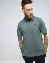 The North Face Pique Polo In Green