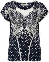 Sugarhill Boutique Butterfly Polka Top