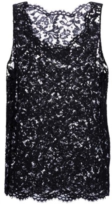 Valentino floral lace top