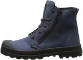 Palladium Pampa Hi Leather Gusset (Little Kid)
