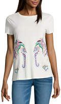 i jeans by Buffalo Short Sleeve Elephant Graphic Tee