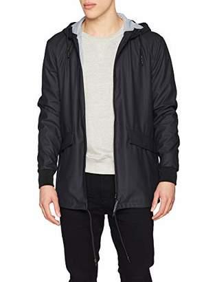 ONLY & SONS Men's Onsaland Rain Jacket OTW,Large