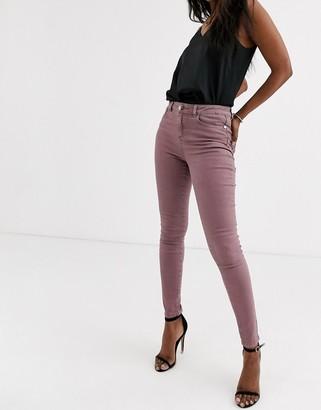 Lipsy skinny jean in rose pink