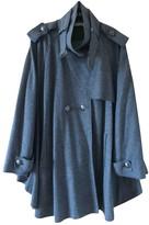 Emilio Pucci Grey Wool Coat for Women