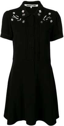 McQ swallow embellished school dress