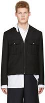 Maison Margiela Black Military Jacket