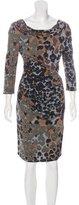 Roberto Cavalli Printed long Sleeve dress