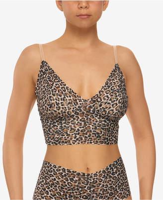 Hanky Panky Women Leopard-Print Retro Longline Bralette 2X7474
