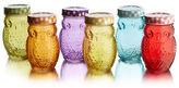 Jay Import S/6 Owl Jars w/Lid
