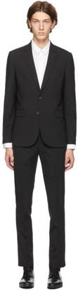 Paul Smith Black Wool Suit