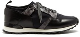Oamc Marathon low-top leather-trimmed trainers